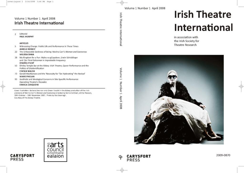 Journal 1:1, 2008