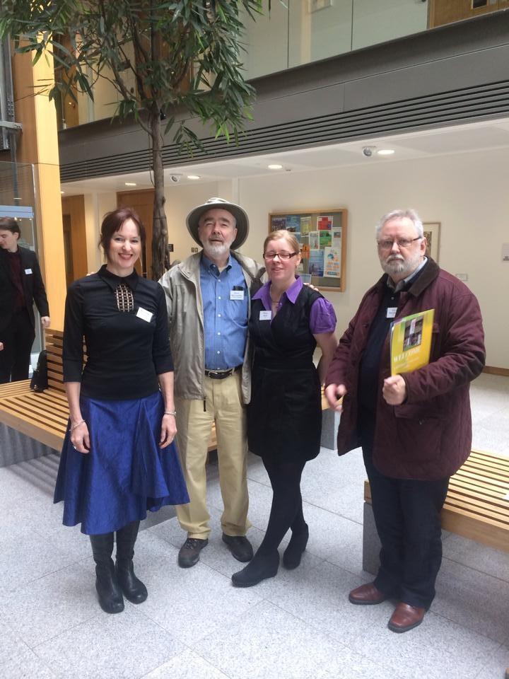 Bernie Cronin Bruce McConachie Marie Kelly and Ger Fitzgibbon