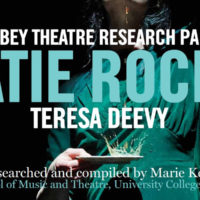 Poster of Katie Roche Teresa Deevy Abbey Theatre
