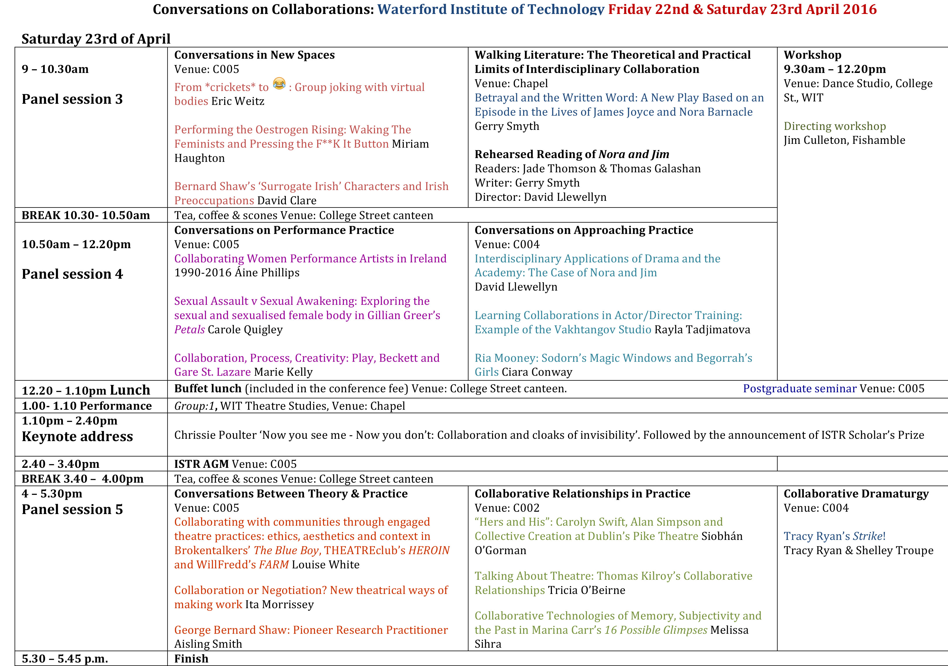 Conference-Schedule-ISTR@WIT-2016-2